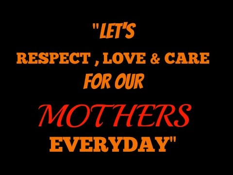 Mother's Day  God could not be everywhere, and therefore he made mothers.