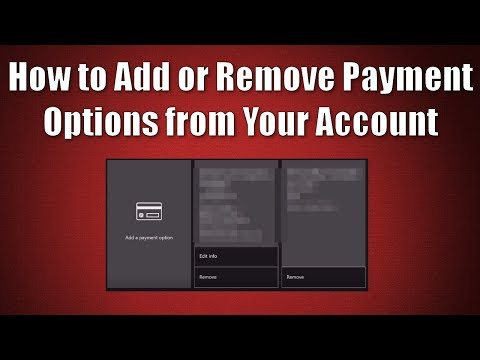How to Add or Remove Payment Options from your Xbox Account