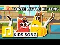 THREE LITTLE KITTENS ENGLISH NURSERY RHYME BEST KIDS SONG LARVA KIDS FULL SONG