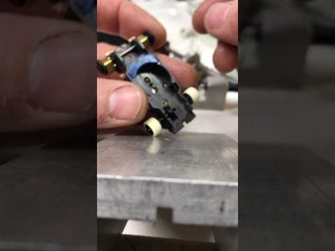 Fitting dash magnets into a thunder jet chassis. Pt.1