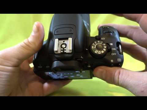 How to change the ISO on the Canon T5i