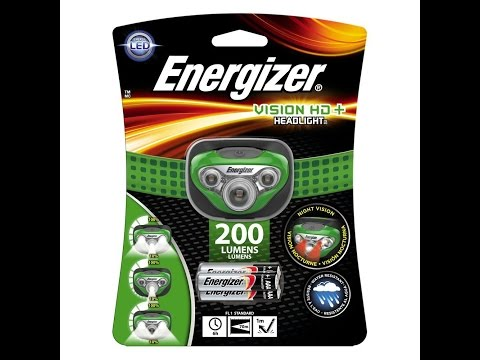 Energizer Vision HD 3AAA Headlamp.  Is it right for you?