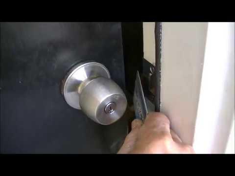 Open Door Lock with Credit Card