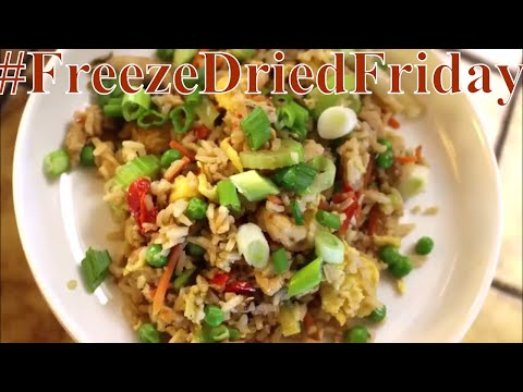 #FreezeDriedFriday House Fried Rice With Linda's Pantry
