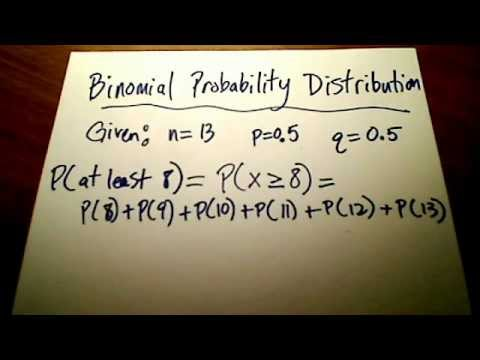 Stats: Binomial Probability Distribution (Part 2)