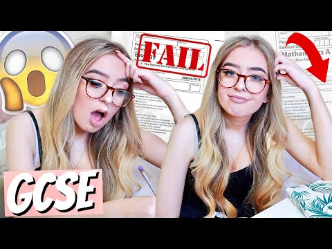 RETAKING LAST YEARS GCSE EXAMS! DID I PASS OR FAIL?😱