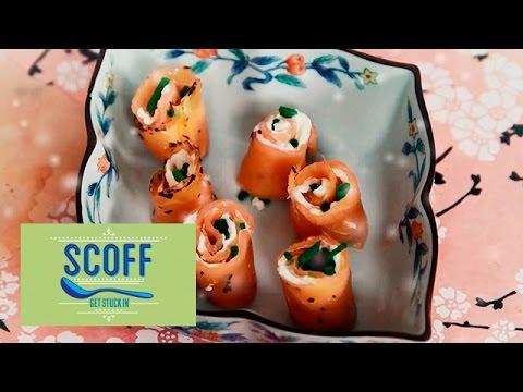 100 Calorie Salmon Bites I Sweet Speedy Xmas