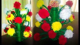 New woolen flower design | Spark Creative Solutions 2019