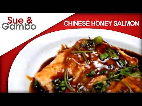 Chinese Honey Glazed Salmon