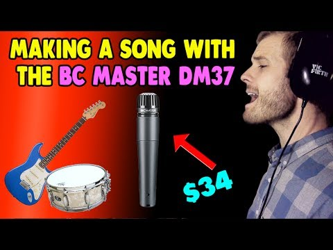 Making a Song with the BC Master DM37 Microphone ($34)