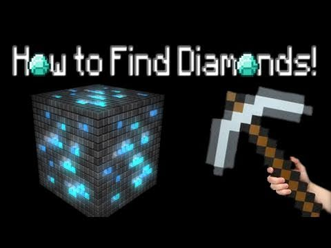 Minecraft: How to Find Diamonds!
