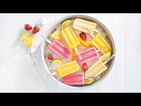 Tasty Fruit Ice Pops | 2016 Milk Calendar