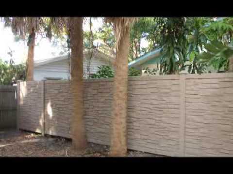 Stone Craft Fence