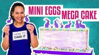 How To Make a CADBURY MINI EGGS MEGA CAKE | With COCONUT Cake | Yolanda Gampp | How To Cake It