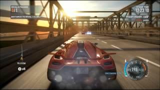 Need For Speed The Run ASTON MARTIN One-77 vs Koenigsegg Agear R