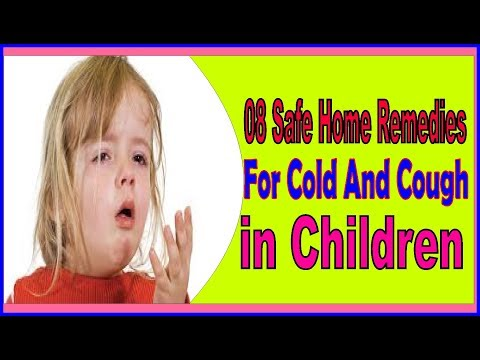 08 Safe Home Remedies For Cold And Cough in Children