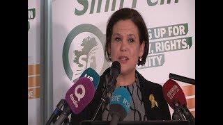 Sinn Féin President elect Mary Lou McDonald TD first speech