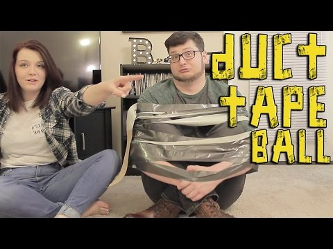 The Duct Tape Ball Challenge!!!