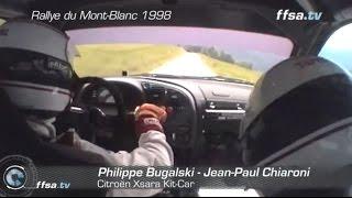 Citroen Xsara Kit Car feat. Philippe Bugalski - 1998 Rallye du Mont-Blanc (Onboard)