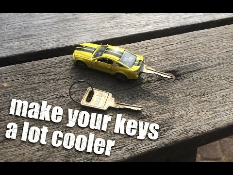 how to make a cool car key