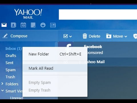 Why my Yahoo mail Unread emails appearing as read?