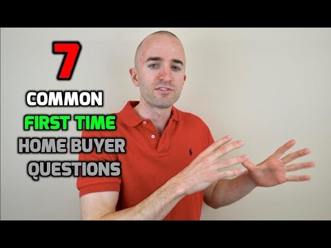 7 Common First Time Home Buyer Questions | Home Buying Questions to Ask