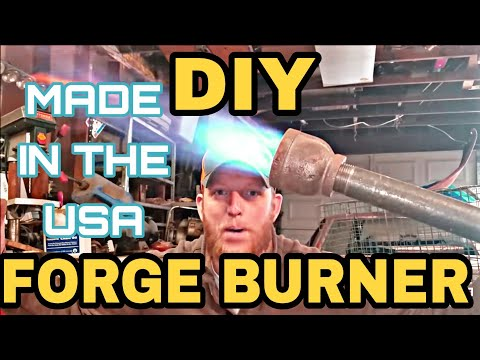 How To Build A Forge Burner
