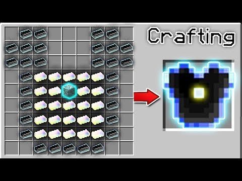 CRAFTING THE STRONGEST ARMOR IN MINECRAFT   Minecraft Mods (Bigger Crafting Table)