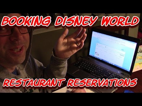 Booking Disney World Restaurant Reservations with My Disney Experience