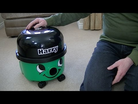 Numatic Harry Vacuum Cleaner Demonstration & Review