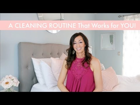 How to Start a CLEANING ROUTINE That Works for YOU + Cleaning the House with Kids