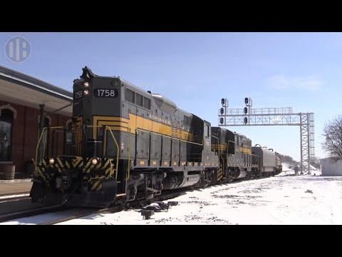 Jackson & Lansing Railroad's Classic EMD GP9s