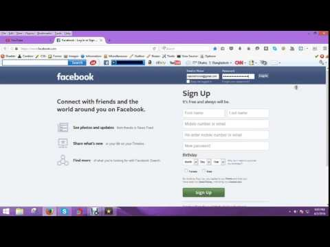 How to Login Facebook Gmail account