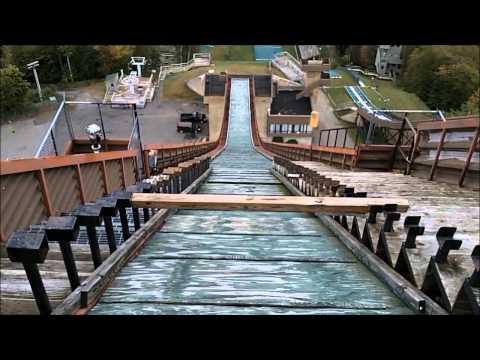 Olympic Ski Jump - -Lake Placid, New York