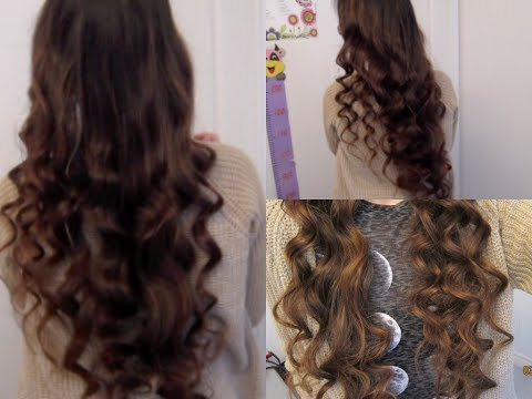 5 Minute No-Heat Curls!