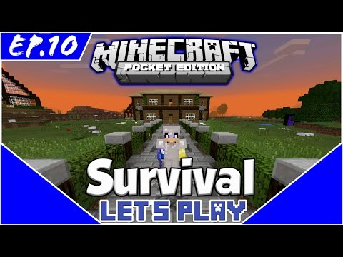 The Return - Survival Let's Play EP.10 - Minecraft PE(Pocket Edition)