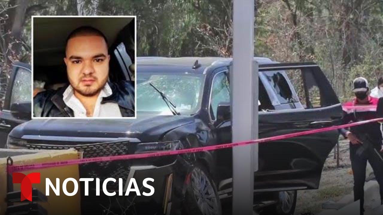 Asesinan al hermano de Alfredo Olivas junto a su esposa y bebé   Noticias Telemundo