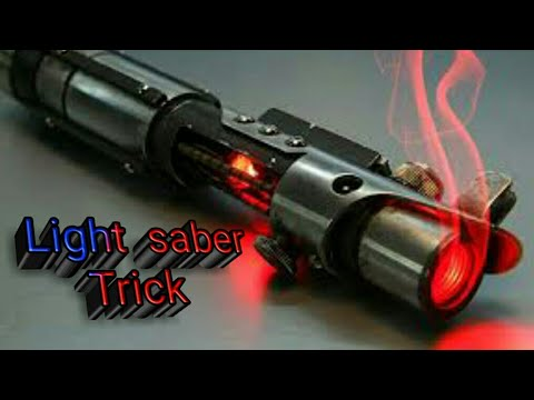 How to make a LIGHT- SABER in Minecraft PE (pocket edition)
