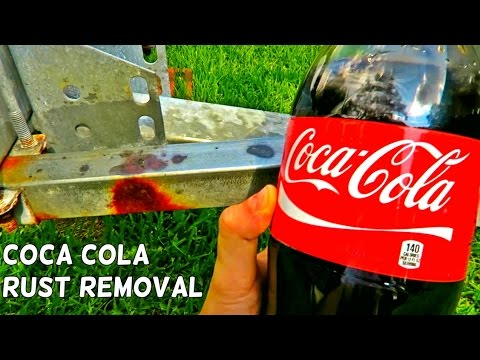 Coca Cola Rust Removal
