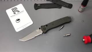 Benchmade Freek Scales