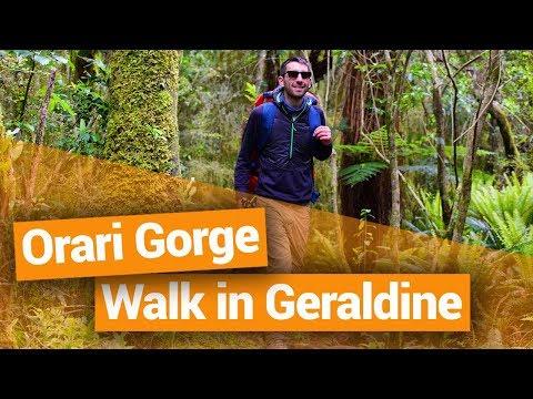 Orari Gorge Walk in Geraldine – New Zealand's Biggest Gap Year – Backpacker Guide New Zealand