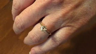 Couple loses diamond ring in Italy, find it 9 years later in a strange place