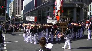 10月27日(日) 能登キリコ祭り@大江戸活粋パレード2013