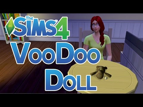 The Sims 4 How to get a Voodoo Doll and Bind Sims to it
