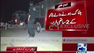 24 Breaking : Gujranwala , 1 robber killed by police encounter