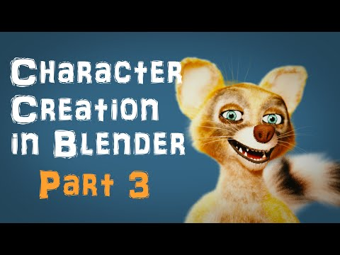 Character Creation in Blender Part 3