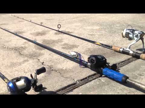 Bass Fishing Rod and Reel Review