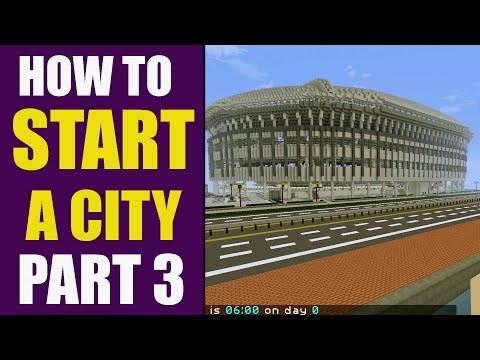HOW TO START A CITY!! Adding Stadiums