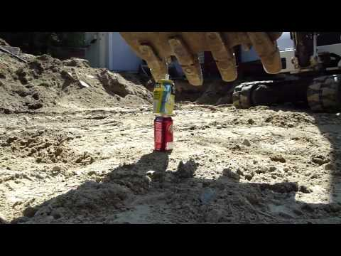 Mini Excavator Tricks