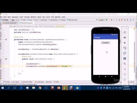 Click Me! App | Android App Development Video#2